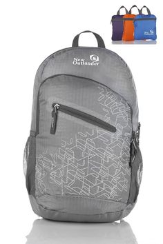 6d78e1eec2 Outlander Packable Handy Lightweight Travel Hiking Gear Backpack Daypack   Amazon.co.uk