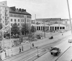 Töölön ratikkahallit Helsinki, Good Old, Time Travel, Finland, Past, Street View, Architecture, Google, Historia