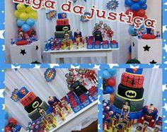 Decoração Liga da Justiça