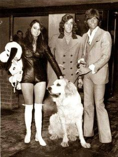 Robin with Barry and Linda and their dog