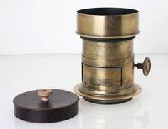 Darlot Paris Petzval Lens F=3,3 - 205 mm