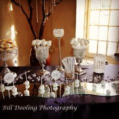 Dessert station  by @tulipandteacups photo by @billdoolingphotography # dessert stations #cakepops