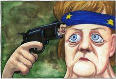 Τρομερό σκίτσο της Guardian για Μέρκελ και Τσίπρα! (ΦΩΤΟ) | sportdog.gr