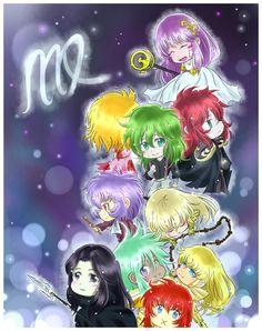 Nacidos en Virgo. Athena, Esmeralda, Shun, Hades, Sorrento, Asmita, Fudo, Shaka, Shijima y Pandora.