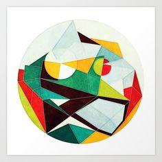 On Time Art Print by Anai Greog - $16.00