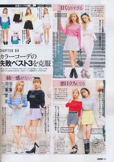 gyaru magazine, outfits, happie nuts
