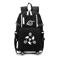 YOYOSHome Luminous Japanese Anime Cosplay Bookbag College Bag Backpack School Bag - Naruto * More details can be found by clicking on the image.