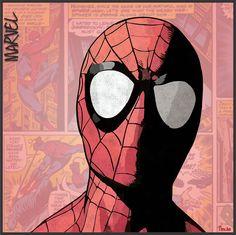 Spiderman - Marvel Comics montaje Propio Martin Olguin