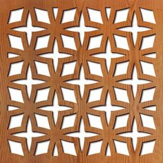Laser cut patterns for custom laser-cut panels. These patterns can be customized for wall partitions, wall art, backlit screens, room dividers, and other products. Laser Cut Patterns, Stencil Patterns, Geometric Patterns, Laser Cut Panels, Laser Cut Wood, Jaali Design, Laser Cutting Service, Star Laser, Cnc Wood