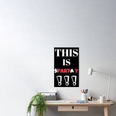 This Is PARTY !!! - Get yourself a funny custom desing from RIVEofficial Redbubble shop.... tags: #thisisparty #thisissparta #fun #parody  #party #funny #humour #friends #300 #party #birthday #findyourthing #shirtsonline #trends #riveofficial #favouriteshirts #art #style #design #nature #shopping #insidecollection #redbubble #digitalart #design #fashion #phonecases #access #customproducts #onlineshopping #accessories #shoponline #onlinestore #shoppingonline Best Part Of Me, I Shop, Size Chart, Custom Design, Funny Humour, Wall Art, Party, Posters, Trends