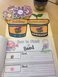 Seeds and plants, Your scientists will enjoy discovering and learning about seeds and plants with this product! www.teacherspayte...