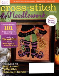 Sept 2013 Cross Stitch & Needlework