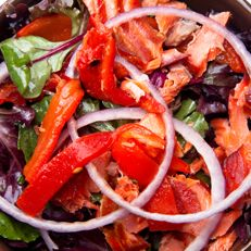 Healthy Recipes - Red, Red Salad