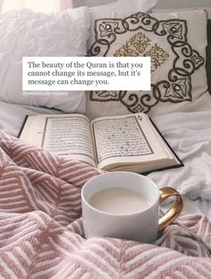 Let it transform you - The Quran is our guide to life and following it will lead us to Jannah.
