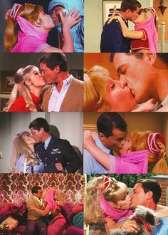 I dream of Jeannie kisses