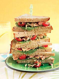 Healthy Sandwich Recipe: Spicy Tuna Salad Sandwich