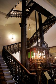 Wander a little deeper into the Pera Palace Hotel for a look at the ornate grillwork of the oldest elevator in Turkey. http://mikestravelguide.com/things-to-do-in-istanbul-visit-the-pera-palace-hotel/