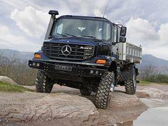 Mercedes-Benz Zetros 1833 AK самосвал Meiller с трёхсторонней разгрузкой '2008–н.в.