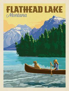 Anderson Design Group – American Travel – Flathead Lake, Montana