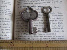 アンティークキー、2このセットです。ナンバーが刻印してあるのは、フランス、シンプルな鍵は、アメリカです。年代は不明ナンバーのある方は、錆びがみられます。大きさ...|ハンドメイド、手作り、手仕事品の通販・販売・購入ならCreema。