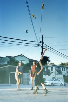 War Games. Photo by Nick Haymes, of the band Warpaint.