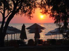 Sunset, Petra (Lesbos).