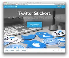 Stickere Twitter pe Gratis