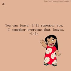 Discover and share Lilo Disney Movie Quotes. Explore our collection of motivational and famous quotes by authors you know and love. Lilo Disney, Disney Love, Disney Ideas, Sad Disney Quotes, Disney Quotes About Love, Disney Senior Quotes, Disney Family Quotes, Sad Movie Quotes, Beautiful Disney Quotes