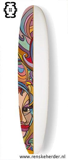 surf board art - Google Search