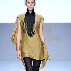 Fashion designer collar This collar is from Greek designer Stelio Koudounari. Fringing are 100% silk. Perfect condition worn once. You will love it. Stelios Koudounaris Accessories