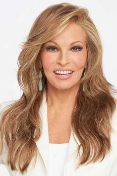 Miles of Style by Raquel Welch features long layers that fall to mid-back to create this full, flowing silhouette. This style is part of the Raquel Welch Signature Wig Collection. Long Hair Wigs, 100 Human Hair Wigs, Side Part Hairstyles, Wig Hairstyles, Hairstyle Ideas, Synthetic Lace Front Wigs, Synthetic Wigs, Raquel Welch Wigs, Long Shag Haircut