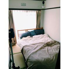 yuricoccoさんの、ベッド周り,IKEA,和室です。,団地寝室,のお部屋写真