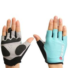 AdoreWe - Others Half Finger Gloves Motorcycle Bicycle Riding Cycling Summer Spring For QEPAE QG055 - AdoreWe.com