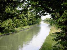 Canal latéral de la Garonne à Feugarolles