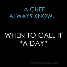 "Hospitality Australia: ""a day"""