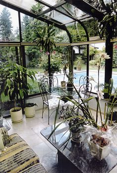 Wonder if I could get a pool, too?  lol...Greenhouse effect additions for homes | Luxury Greenhouses | Greenhouse Megastore