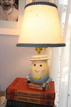 Eliza's Precious Vintage-Inspired Room Childrens Lamps, King Horse, Retro Room, Humpty Dumpty, Room Tour, Vintage Children, Room Inspiration, The Help, Vintage Inspired