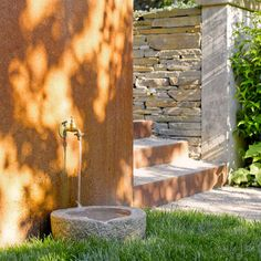 Stone Trough Sink Design Ideas, Pictures, Remodel and Decor