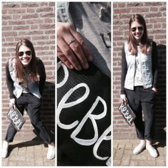 Rebel without a cause ;)  Look by #Diesel, #Gstar, #Zoe Karssen and #Hip-e...#ootd #style #fashion www.ruysfashion.nl