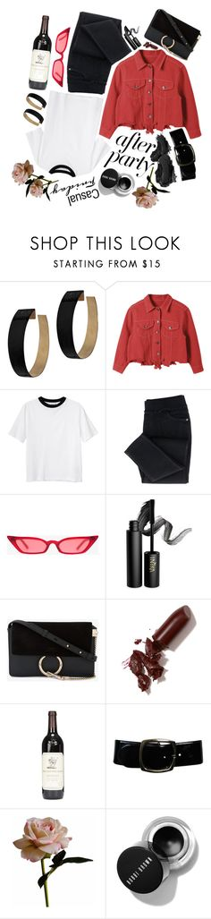"""Jd"" by maggdalene on Polyvore featuring Zimmermann, Monki, INIKA, Chloé, LAQA & Co., Urban Decay, Chanel, Abigail Ahern, contest and afterparty"