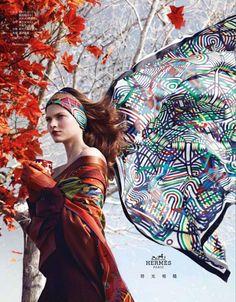 Campagne Hermès Eté 2012 : Au Pied des Oliviers