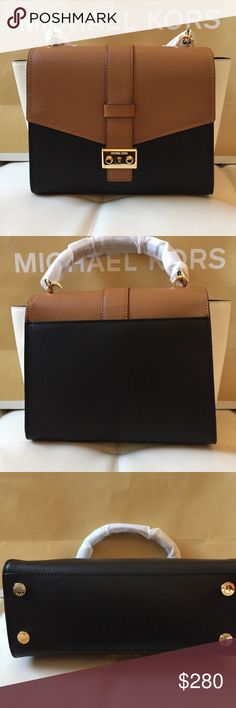 NWT MAUVE MD TH BROWN BLACK MICHAEL KORS CROSSBODY Brand: Michael KORS crossbody bag   / comes with Michael KORS paper bag, no dust bag  Condition: New with tag || Black And brown      NO  TRADES  NO LOWBALL OFFERS  ⛔️NO RUDE COMMENTS  NO MODELING  ☀️Please don't discuss prices in the comment box. Make a reasonable offer and I'll either counter, accept or decline.   I will try to respond to all inquiries in a timely manner. Please check out the rest of my closet, I have various brands. Some…
