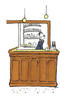 ワインバー「La Buvette」