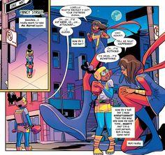Moon Girl and Devil Dinosaur #11 (2016) Moon Girl (Lunella Lafayette) and Ms. Marvel (Kamala Khan) Story: Amy Reeder, Brandon Montclare, art: Natacha Bustos Get the comics here[ Follow...