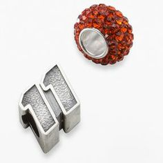 "Insignia collection nascar denny hamlin sterling silver ""11"" bead & crystal bead set on shopstyle.com"