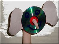 Elephant CD craft