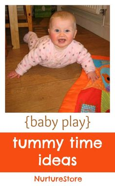 Tummy Time ~ Why it's important and how to make tummy time enjoyable for your baby.