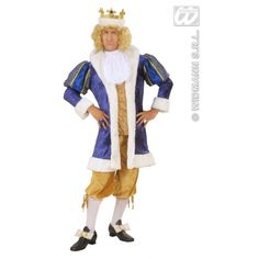 Royal King Fancy Dress Costume for Theatrical Productions This is a deluxe quality King dressing up outfit for adults Includes Coat and