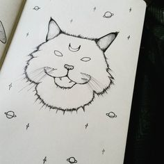 provocative-planet-pics-please.tumblr.com Cosmic cat  (22/366) #cat #cosmic #space #stars #illustration #fluffy #moon #moleskine #drawingoftheday #catillustration #kitty #spacekitty #planets #drawing #blackwork #art #instaart #occult by nicolejsykes https://www.instagram.com/p/BA1JVvMx4Cn/