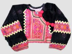 Hmong Njua men's jacket Hmong Clothing, Male Outfits, Turkey Brine, Group Costumes, Facade Design, Men's Jacket, Historical Costume, I Love Fashion, Stitches